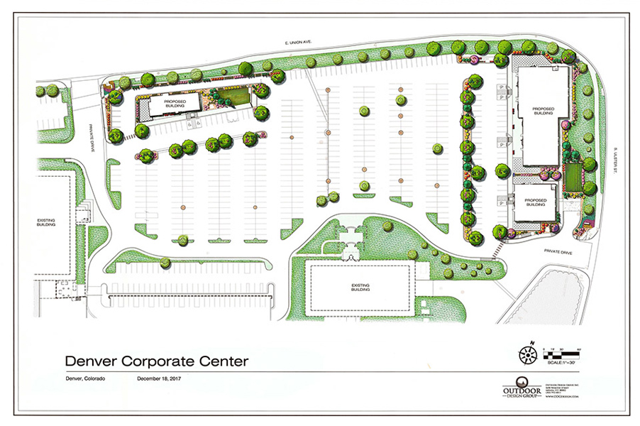 Denver Corporate Center Landscape Renovation Plan