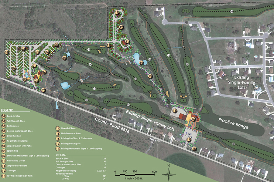 Golf RV Resort Master Plan