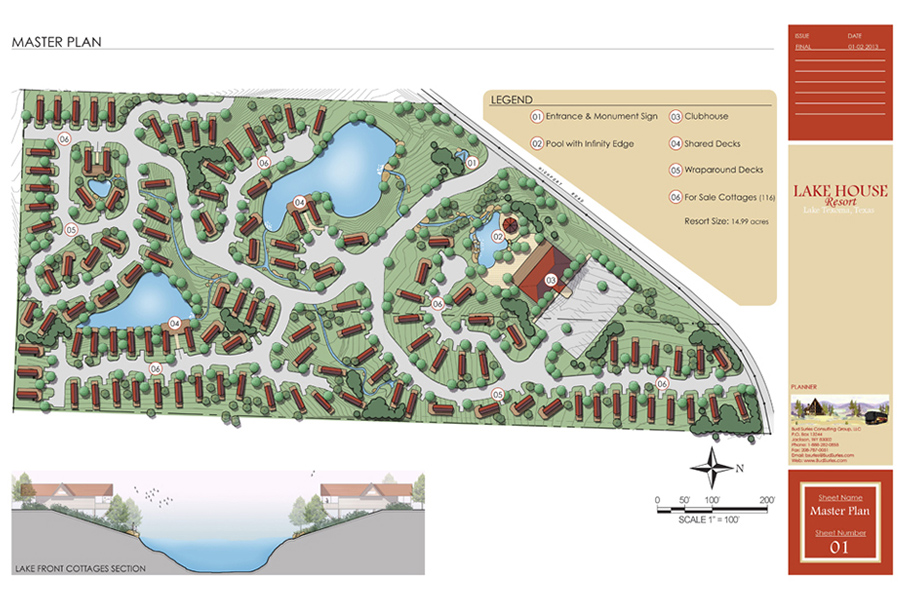 Lake House Resort Master Plan