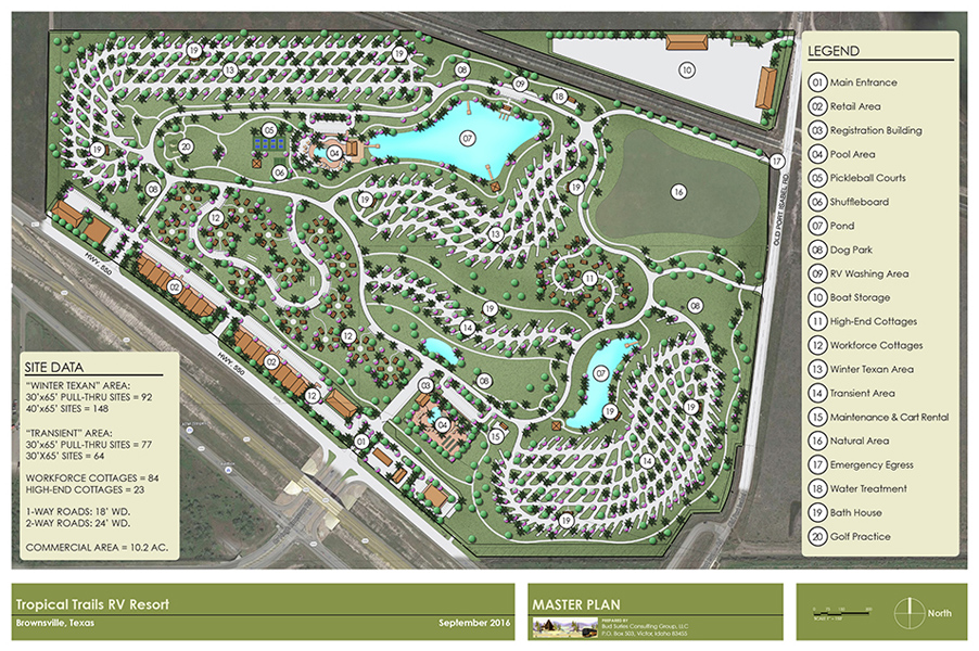 Tropical Trails Texas Master Plan